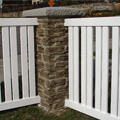 Pre-formed Faux Stone Pillars