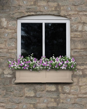 Clay window box