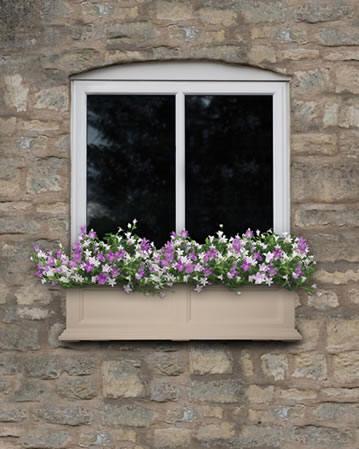 Clay window box