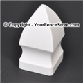 Gothic Picket Cap 1-1/2 inch