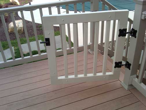 Vinyl Railing Gate Kit