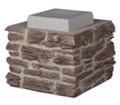 21 inch Faux Stone - Stack Section