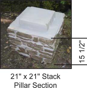 Stack Section Dimensions